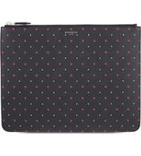 Givenchy Dotted Leather Pouch Black