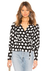 C Meo Collective Unending Long Sleeve Top Black And White
