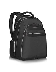 Piquadro Link Multi Pocket Laptop Backpack Black