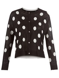 Damsel In A Dress Spotty Cardigan Black