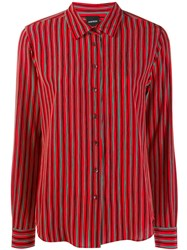 Aspesi Striped Shirt Red