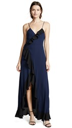 Fame And Partners The Calvin Dress Black And Navy