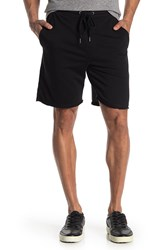 Joe's Jeans French Terry Cutoff Shorts Black