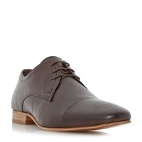 Howick Parmers Toe Cap Gibson Shoes Brown