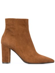 The Seller Suede Ankle Boots Brown