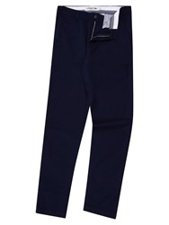 Lacoste Men's Cotton Gabardine Chino Pants Navy Sealed