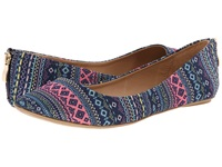 Call It Spring Chaella Blue Pink Women's Slip On Shoes