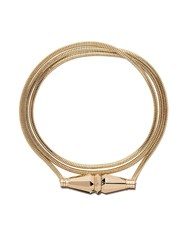Boucheron 18Kt Yellow Gold Jack De Triple Wrap Bracelet Yg