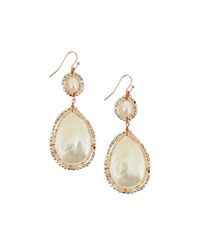 Nakamol Mother Of Pearl Shell Drop Earrings