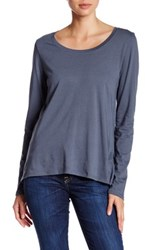 Joe's Jeans Letty Cross Back Tee Blue