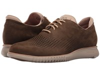 Cole Haan 2.0 Grand Laser Wing Oxford Sapor Nubuck Cobblestone Men's Lace Up Casual Shoes Brown