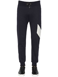 Moncler Gamme Bleu Logo Detail Cotton Jogging Pants