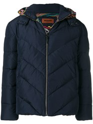 Missoni Quilted Jacket Blue