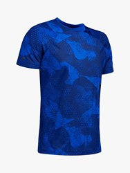 Under Armour Rush Short Sleeve Training Top Royal