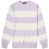 Howlin' Star Sailing Stripe Crew Knit Purple