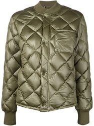 Nlst Quilted Padded Jacket Green