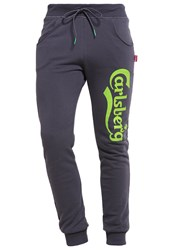 Carlsberg Tracksuit Bottoms Piombo Stampa Fluo Grey