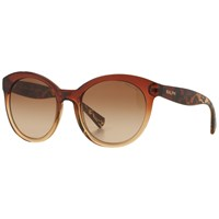 Ralph Lauren Ra5211 Cat's Eye Sunglasses Terra Cotta Beige
