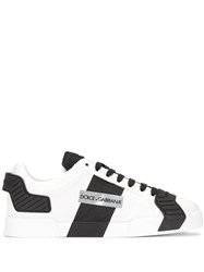 Dolce And Gabbana Logo Low Top Sneakers White