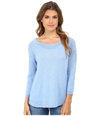 Candc California 3 4 Sleeve Solid Sweater Bel Air Blue Women's Sweater Navy