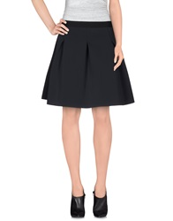 Essentiel Knee Length Skirts Dark Blue