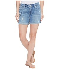Lucky Brand The Roll Up Shorts In Spring Branch Spring Branch Women's Shorts Blue