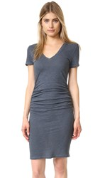 Lanston Ruched T Shirt Dress Pacific
