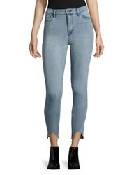 Buffalo David Bitton Light Wash High Waist Skinny Jeans 30128