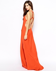 Goldie Maxi Dress With Open Back