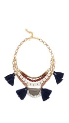 David Aubrey Chloe Necklace Gold Multi