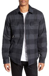 Men's Ezekiel Quilt Lined Plaid Flannel Shirt Jacket