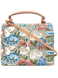 Ermanno Scervino Floral Print Crossbody Bag
