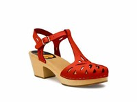 Swedish Hasbeens Lacy Sandal Sandals Red