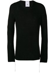 Lost And Found Rooms Rib Sweater Black