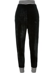 Nude Tapered Regular Length Trousers Black