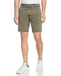Joe's Jeans Twill Regular Fit Shorts Olive Tree
