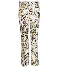 Giambattista Valli Printed Crepe Trousers Multicoloured