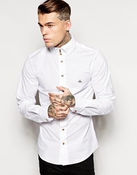 Vivienne Westwood Shirt With 3 Button Collar