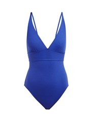 Eres Duni Triangular Cup Swimsuit Blue