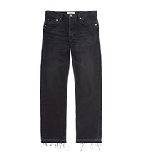 Sandro Paint Curtis Distressed Jeans Male Black