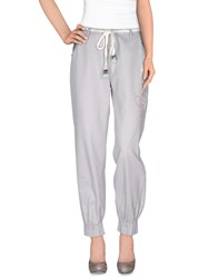 Desigual Trousers Casual Trousers Women Light Grey