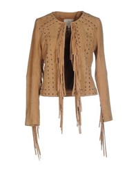 Essentiel Suits And Jackets Blazers Women Camel