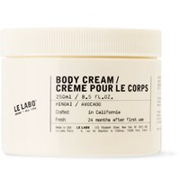 Le Labo Body Cream 250Ml Colorless