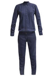 Marc O'polo Jumpsuit Dusk Blue Dark Blue