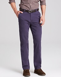 The Men's Store At Bloomingdale's Brushed Cotton Pants Bloomingdale's Exclusive Navy Twist