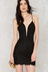 Nasty Gal Scallop Sided Lace Dress