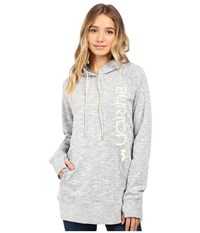 Burton Custom Antidote Pullover Eclipse Heather Women's Sweatshirt Gray