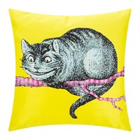 Mrs Moore's Vintage Store Alice In Wonderland Cushion Cheshire Cat