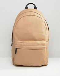 Farah Canvas Backpack Stone Stone Beige