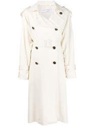 Iro Double Breasted Belted Trench Coat 60